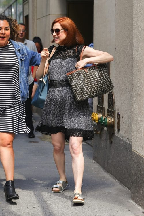 Mama-to-be Ellie Kemper Steps Out in NYC