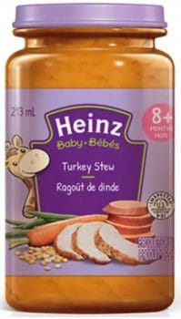 RECALL: Heinz Brand Turkey Stew Baby Food Due To Presence Of Insects