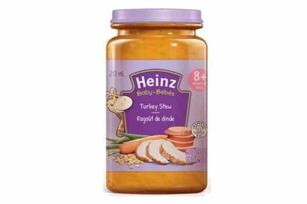 heinz baby food recall