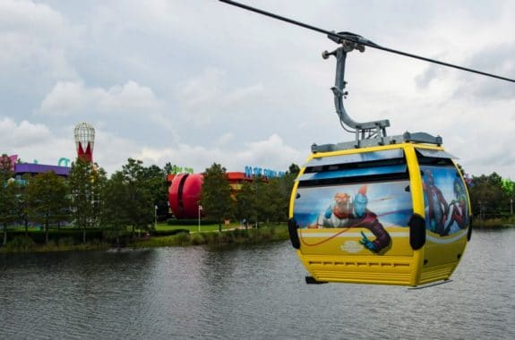 Disney debuts skyliner travel system