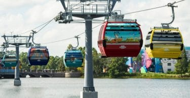Disney debuts skyliner travel system