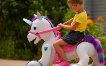 mals Josie Play & Ride Unicorn,