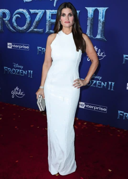 Idina Menzel at Frozen 2 premiere in LA