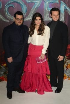 Josh Gad, Idina Menzel and Jonathan Groff at frozen 2 premiere
