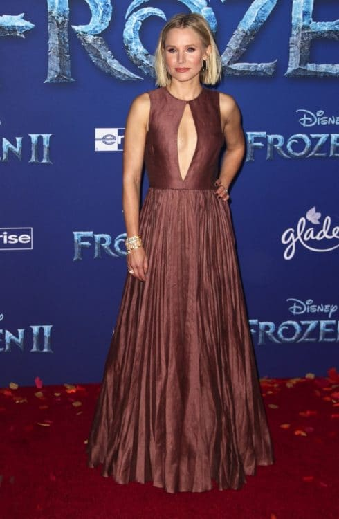 Kristen Bell at the Frozen 2 premiere in LA