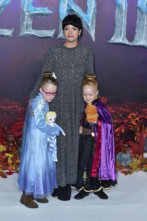 Lily Allen - Marnie Rose Cooper - Ethel Cooper at frozen 2 premiere