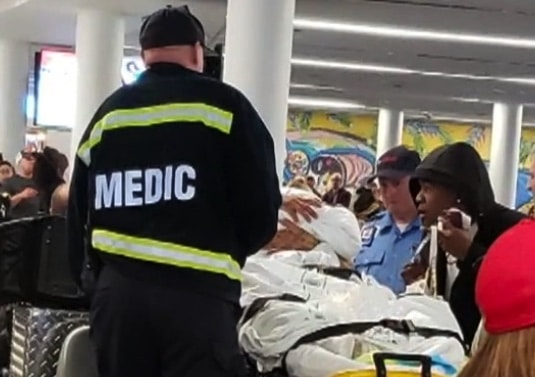 Mother delivers baby girl at Charlotte airport f