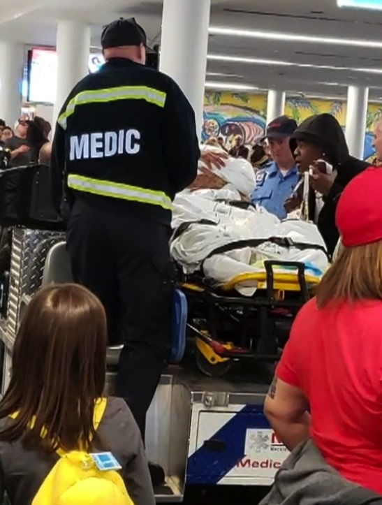 Mother delivers baby girl at Charlotte airport