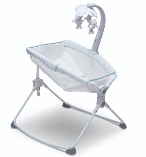 Beautyrest Beginnings Incline Sleeper with Adjustable Feeding Position for Newborns