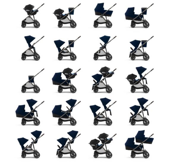 CYBEX Gazelle S Tandem or Single configurations