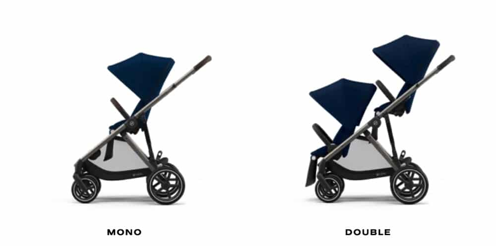 CYBEX To Debut New Gazelle S Tandem or Single Stroller