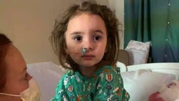 Jade DeLucia left blind after Flu
