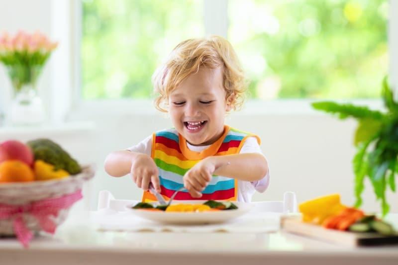 Raising Children Vegan and Vegetarian