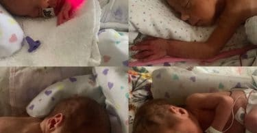 Minnesota Couple Welcomes Identical Quadruplet Girls