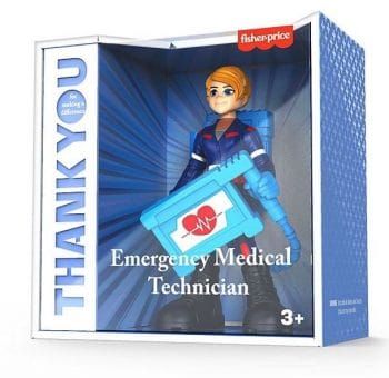 Fisher Price Emergency Medical Technician Thank you heros figure