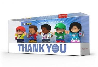 Fisher Price Little People ThankYouHeroes f