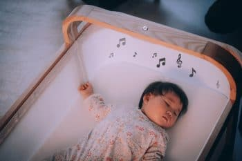 Cradlewise Smart Crib - music