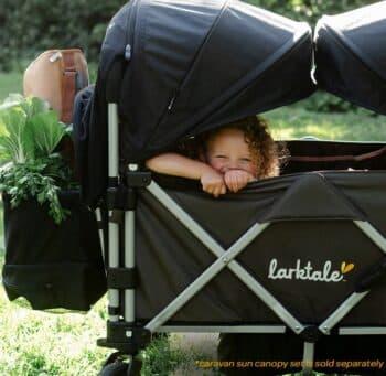 larktake caravan stroller wagon