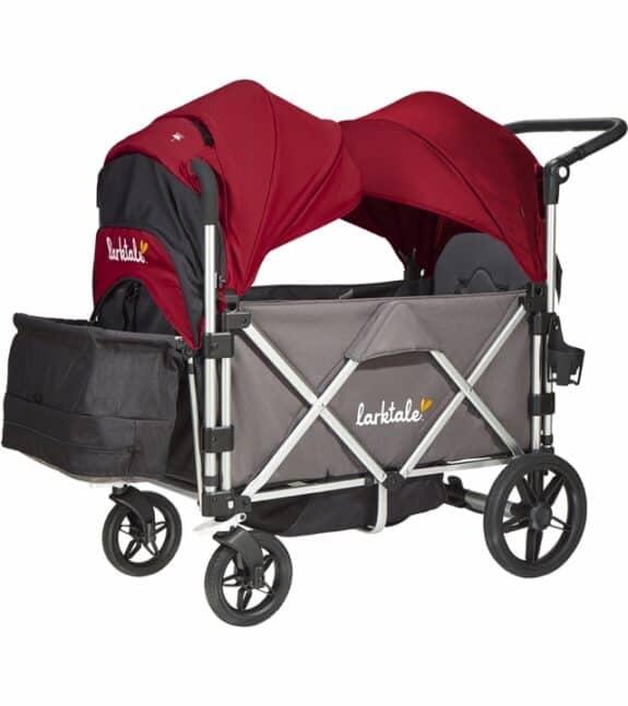 larktake caravan stroller wagon with canopy