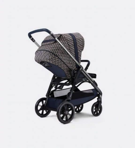 Dior X Inglesina Luxurious Stroller - back