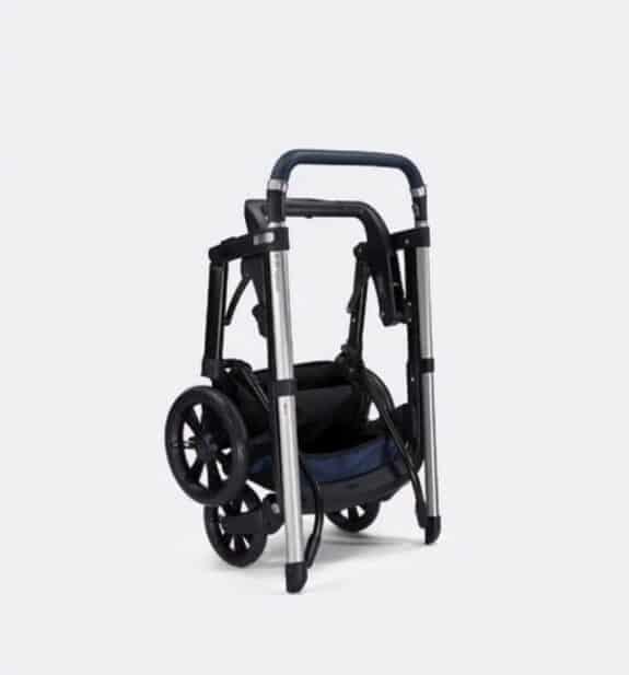 Dior X Inglesina Luxurious Stroller - folded