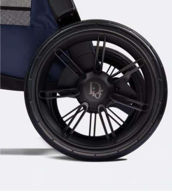 Dior X Inglesina Luxurious Stroller - wheels