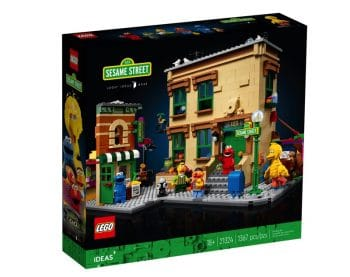 123 Sesame Street LEGO Set - box
