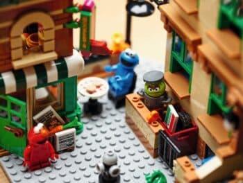 123 Sesame Street LEGO Set - hoopers