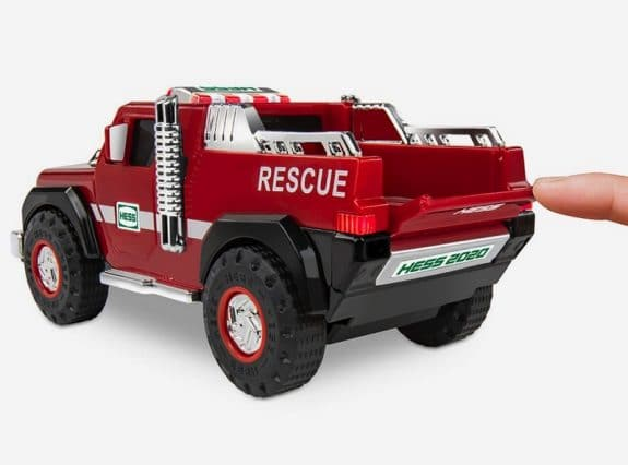 Hess 2020 Ambulance and Rescue Playset - truck