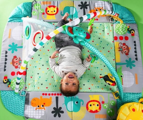 Bright Starts 5-in-1 Your Way Ball Play Activity Gym - floor mat