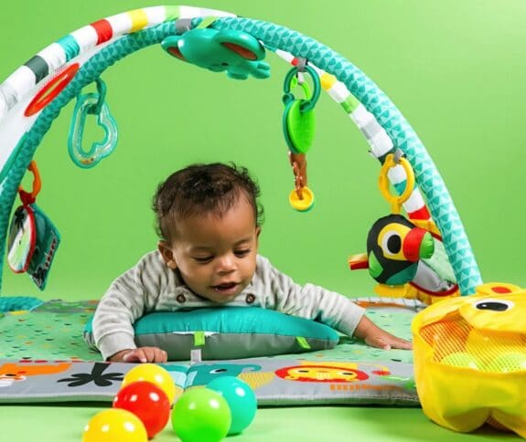 Bright Starts 5-in-1 Your Way Ball Play Activity Gym - tummy time