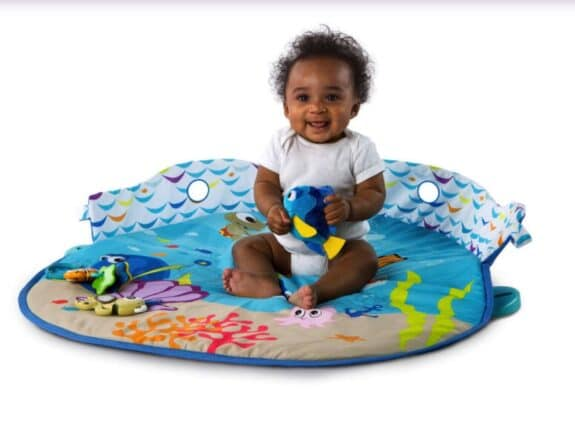 Disney Baby Mr. Ray Ocean Lights Activity Gym - play mat