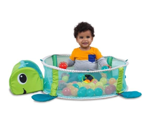 Inglesina Grow-With-Me Activity Gym & Ball Pit - as a ball pit