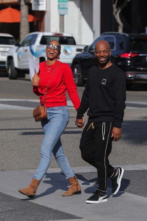 Kelly Rowland and hubby Tim Weatherspoon