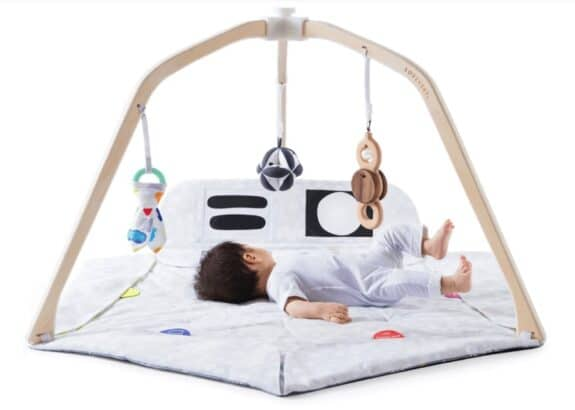 Lovevry Wooden Play Gym - infant