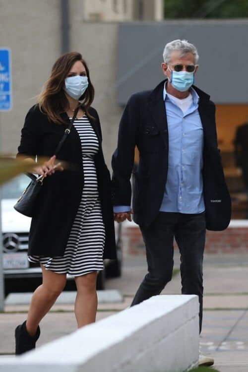 Pregnant Katharine McPhee and David Foster shop in LA