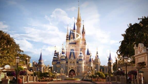 Cinderellas Castle 50th annniversary celebration