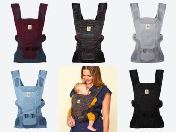ErgoBaby Aerloom Baby Carrier - colourways