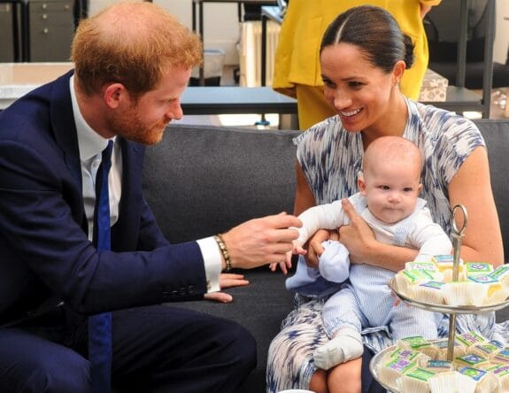 Harry, Meghan and Archie pictured in Cape Town, South Africa in September 2019