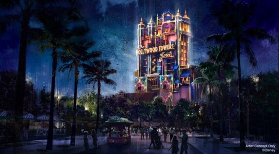 Hollywood Tower Of Terror Beacon of Magic