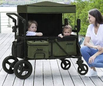 Jeep Deluxe Wrangler Stroller Wagon