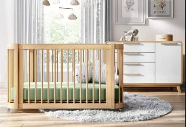 Nestig modern crib