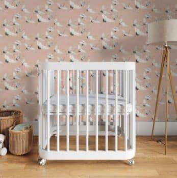 Nestig wave crib white