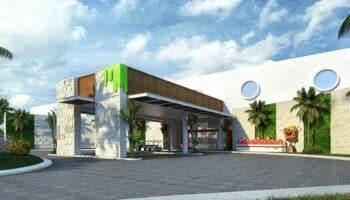 Nickelodeon Hotels & Resorts Riviera Maya - entrance