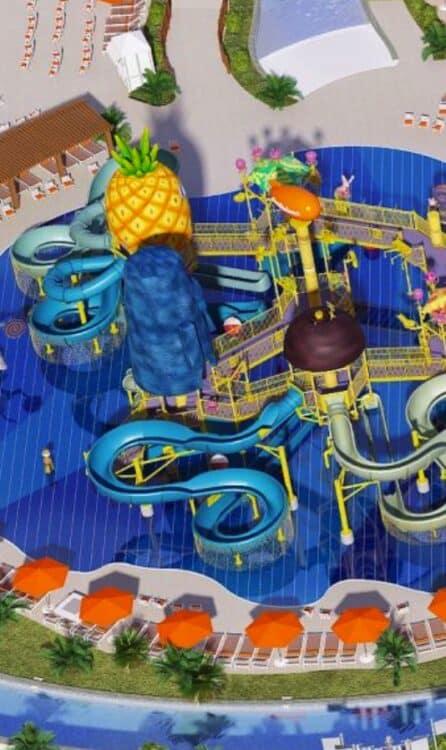 Nickelodeon Hotels & Resorts Riviera Maya waterpark