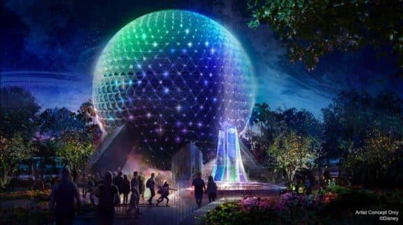 Spaceship Earth Beacon of Magic