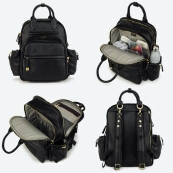 jujube million pockets bag black