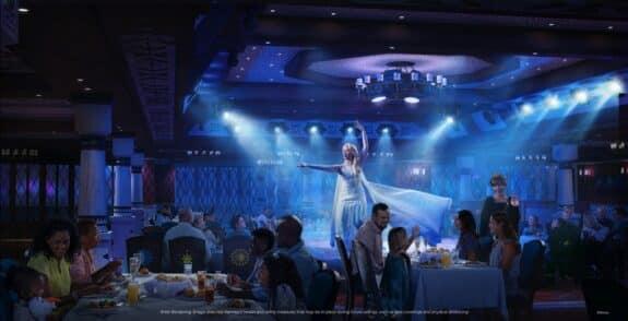 Disney Wish – Arendelle A Frozen Dining Adventure