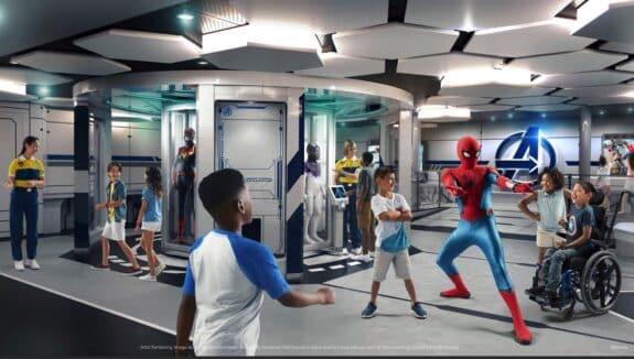 Disney Wish – Marvel Super Hero Academy