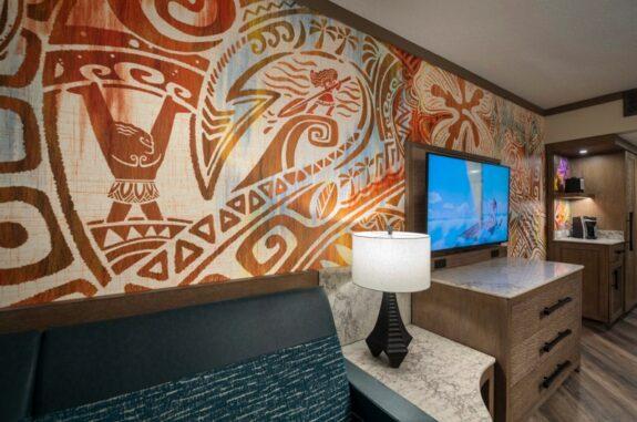 Disney's Polynesian Village Resort Reveals New Moana Themed Rooms